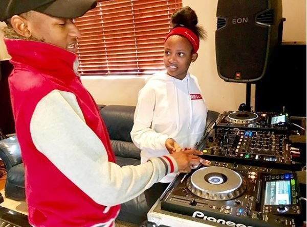 Owami Mafokate and her brother DJ AJ.