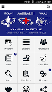 UCAmI - IWAAL - AmIHEALTH 2015- screenshot thumbnail