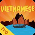 Vietnamese Flash Quiz Ad-FREE icon