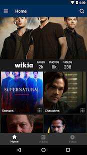 Fandom: Supernatural- screenshot thumbnail