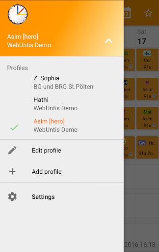 Untis Mobile  screenshots 4