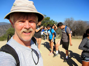 Photo: Yours truly on Azusa Peak. Been here so many times. I had no idea this would be my last visit before these wonderful environs would be turned to scorched earth.