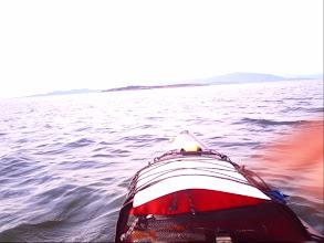 Photo: Ballenas Island in my sights.