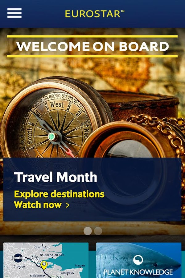 Eurostar Trains- screenshot