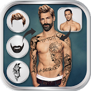 App Man Hairstyle Tattoo Editor APK for Windows Phone
