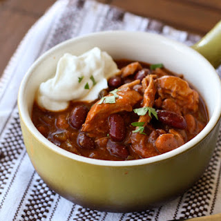 Red Chicken and Two-Bean Chili