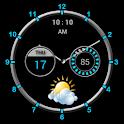 Super Clock Widget [Free] icon