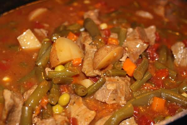 Homemade Stew Recipe