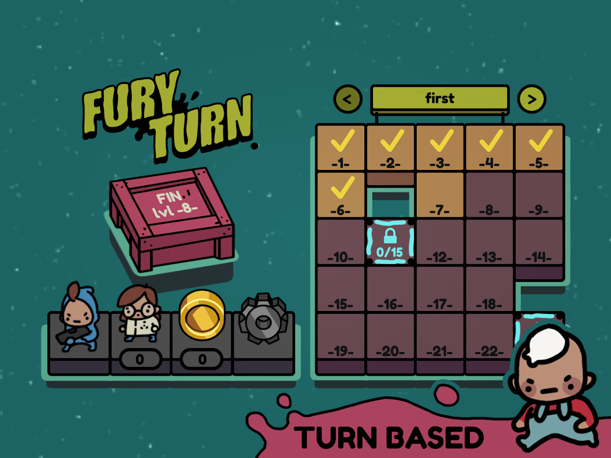 Fury Turn- screenshot