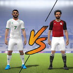 Mo Salah VS R Mahrez Soccer Players icon
