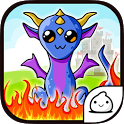 Dragons Evolution -Merge Clicker Kawaii Idle Game icon