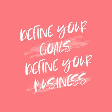 Define Your Goals - Instagram Post Template