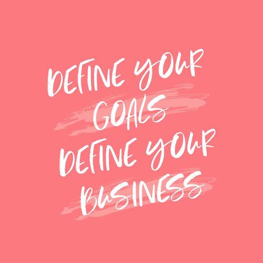 Define Your Goals - Instagram Post Template