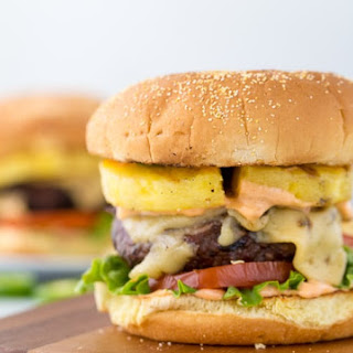 Pineapple Jalapeno Burgers with Chipotle Mayo Recipe