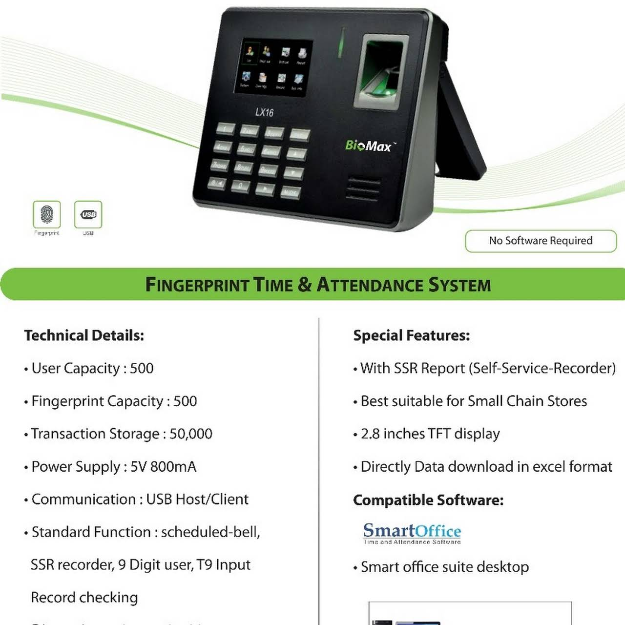 Best Fingerprint Attendance System
