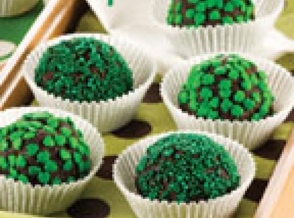 St. Patty's Day Mud Balls Recipe