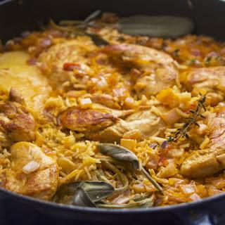 Italian Chicken and Rice.