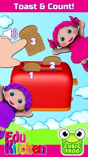 Toddler Kitchen Food Cooking Games-EduKitchen Girl 7.24 screenshots 3