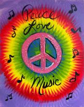 Photo: Tie Dye Peace Sign