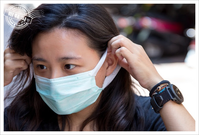 康乃馨PM2.5 Z摺口罩