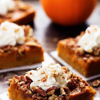 Pumpkin Pecan Pie Bars.