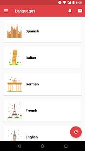 Topgrade Language Learning screenshot