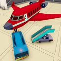 Blocky Airport Ground Staff Flight Simulator Game icon