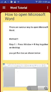 Word - Office - 2017 - Tutorial - náhled