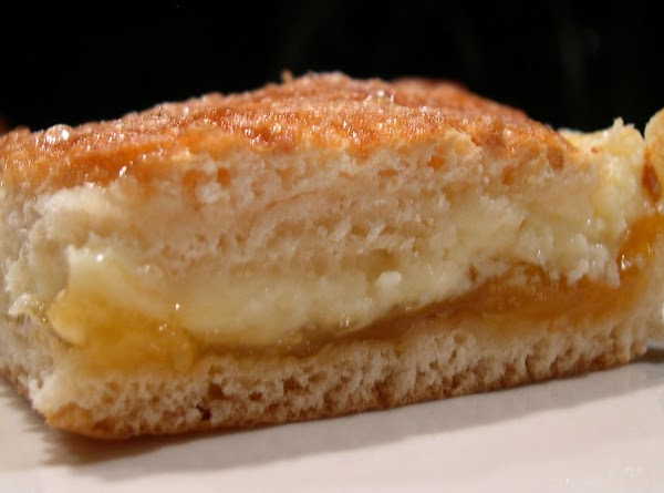 Apricot Cream Squares (using Crescent Rolls) Recipe