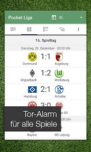 Pocket Liga - Fussball Live- screenshot thumbnail