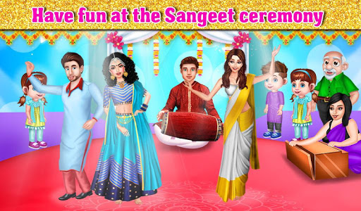 Indian Wedding Part1 - Love Marriage Beauty Salon android2mod screenshots 12