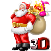 Santa Claus 3D Live Wallpaper