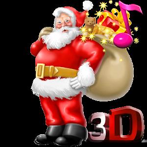 Natal Wallpaper 3d Santa Claus 3d Live Wallpaper Android Apps On Google Play