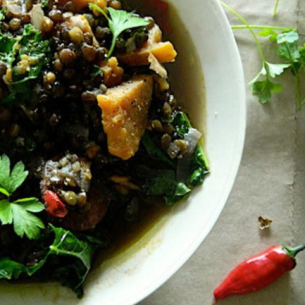 Hearty Winter Greens, Iris Recipe