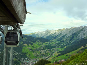 Photo: #013-La Clusaz, vue de Beauregard altitude: 1647m.