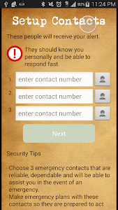 Text SOS Alert screenshot 3
