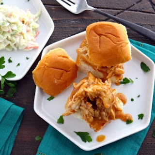 Slow Cooker Sweet-and-spicy Bourbon Chicken Sliders