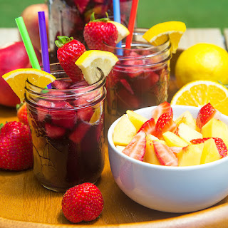 NON ALCOHOLIC SANGRIA PITCHER FOR KIDS - party vitamin boost!.