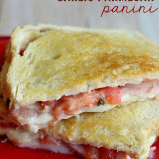 Garlic Parmesan Panini