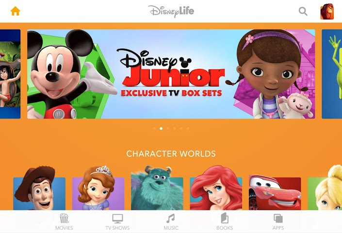 android DisneyLife Screenshot 5