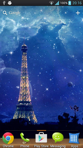 Paris's Dream Starry Sky