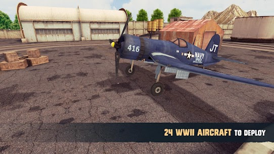 War Dogs : Air Combat Flight Simulator WW II App Download For Android 2