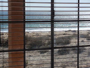 Photo: Ocean view from living room window.