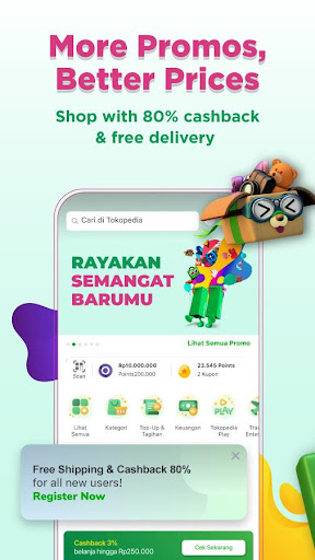 Tokopedia 3.86 Screenshots 2