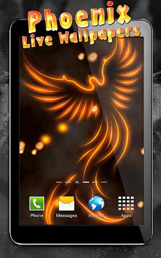 Phoenix Live Wallpaper  screenshots 5