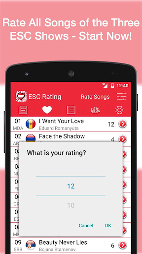 ESC Rating - Eurovision 2015