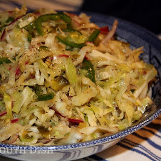 Fire 'N Ice Vinegar Coleslaw Recipe