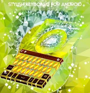 Stylová klávesnice pro Android - náhled