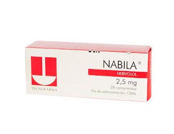 Nabila 2.5Mg Comprimidos   Caja x28Com. Tecnofarma Nebivolol