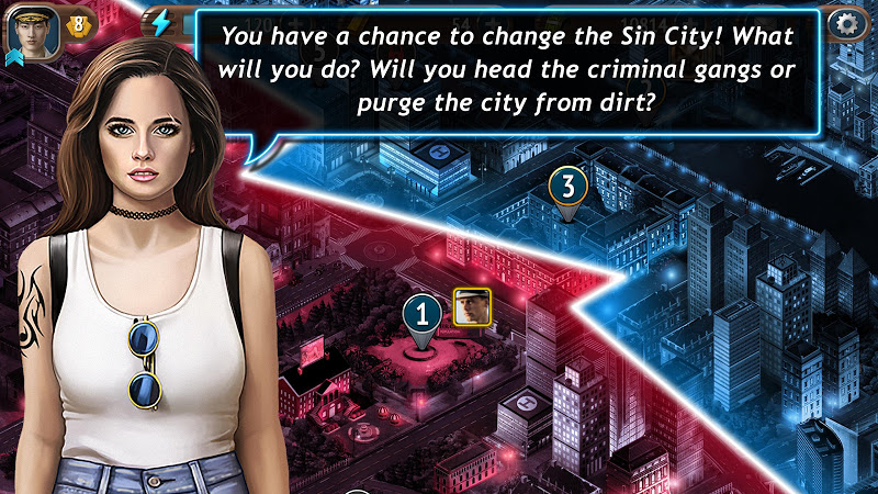 Download Sin City Detective – Hidden Objects Cheat APK MOD